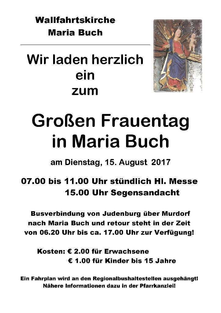 Großer Frauentag - Plakat 15 08 2017