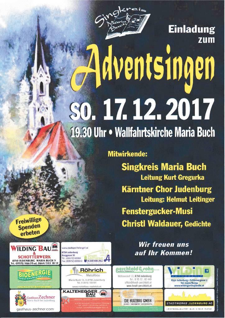 Adventsingen 17 12 2017